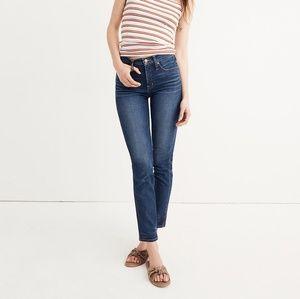 Madewell GUC 27 Slim Straight Jeans William Waah